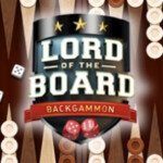 Backgammon E28093 Lord of the Board 4856