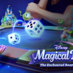 Disney Magical Dice The Enchanted Board Game 2200