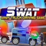 Elite SWAT Car Racing Army Truck Driving Game 1888