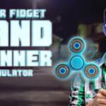 Laser fidget hand spinner 6286